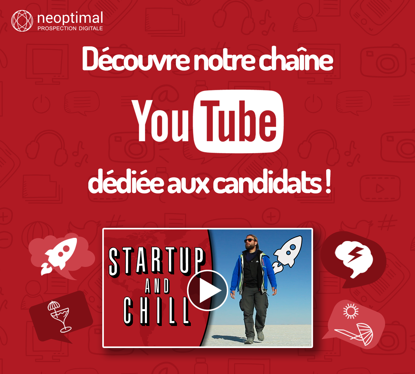 Affiche Startup And Chill